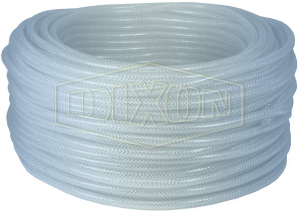 Clear PVC Braided Tubing