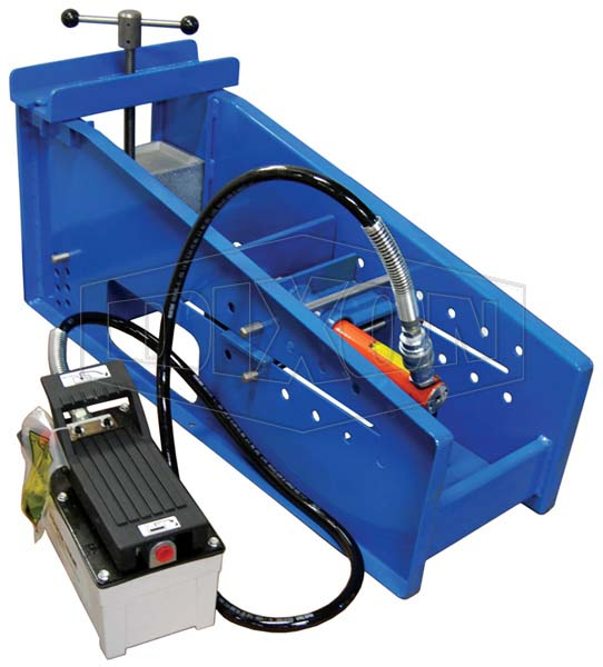Coupling Inserter 5 Ton Ram with Air/Hydraulic Pump