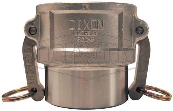 Dixon® Cam & Groove Coupler Butt Weld to Schedule 40 Pipe/Socket Weld to Nominal Tubing
