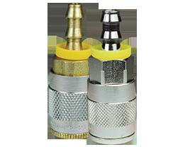 J-Series Automotive Pneumatic Push-Loc Hose Barb Coupler