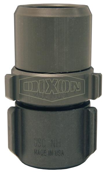 Expansion Ring Coupling for Single Jacket Hose, Aluminum