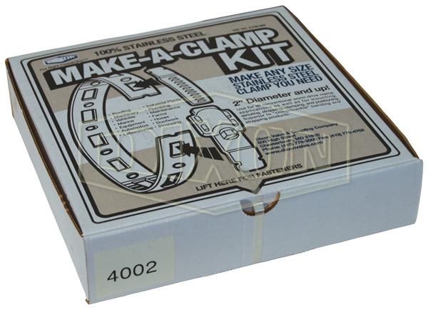Worm Gear Make-A-Clamp Kit
