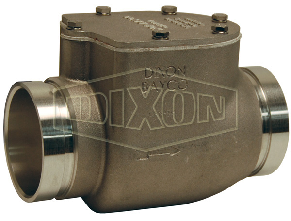 Bayco High Flow Series Swing Check Valve Grooved