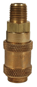 A-Series Pneumatic Male Threaded Coupler