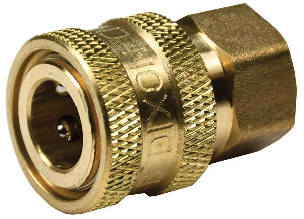 DQC E-Series Straight Through Interchange Female Plug - Retail Package