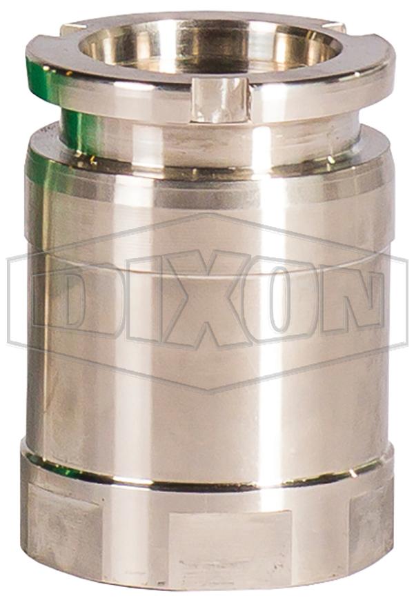 Mann Tek Cryogenic Dry Disconnect Adapter-Tank Unit x Female NPT