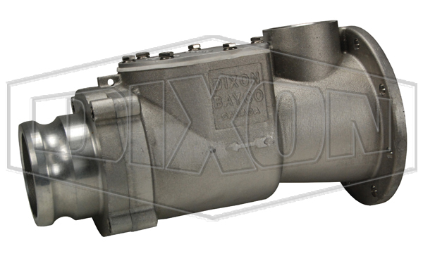 Blower Mounted Swing Check Valve