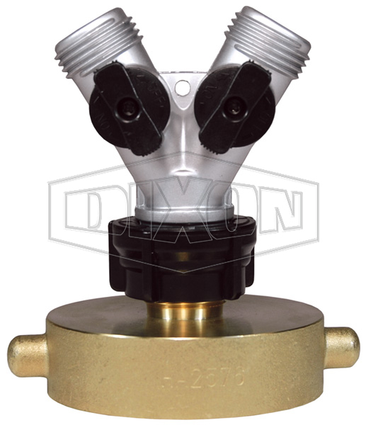 Brass Hazmat Adapter