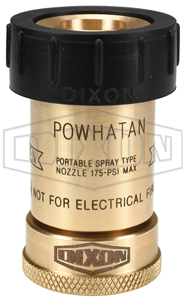 Bumpered Brass Fog Nozzles