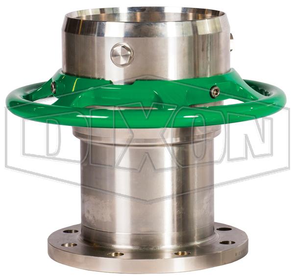 Mann Tek Cryogenic Dry Disconnect Coupler-Hose Unit x 150# Flange