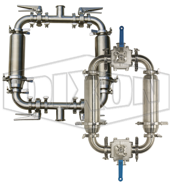 Dual Strainers