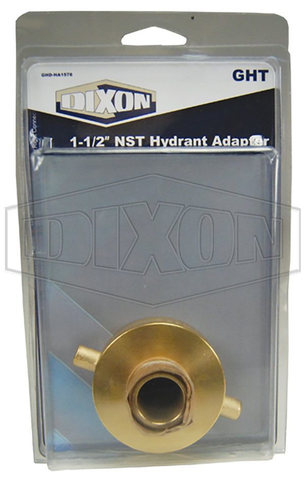"""1-1/2"""" NST Hydrant Adapter - Retail Packaged"""