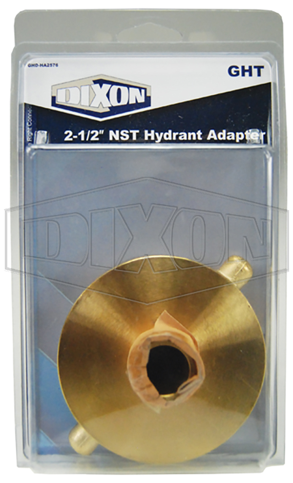 """2-1/2"""" NST Hydrant Adapter - Retail Packaged"""