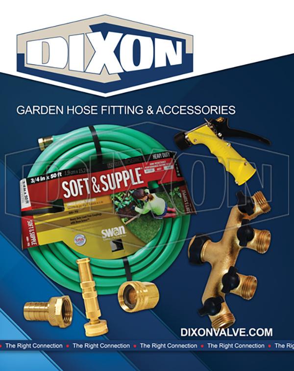 Dixon Store: Garden Hose Poster