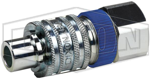 Dix-Lock™ N-Series Interchange Male Head x Female Threaded Safety-Lock End Plug