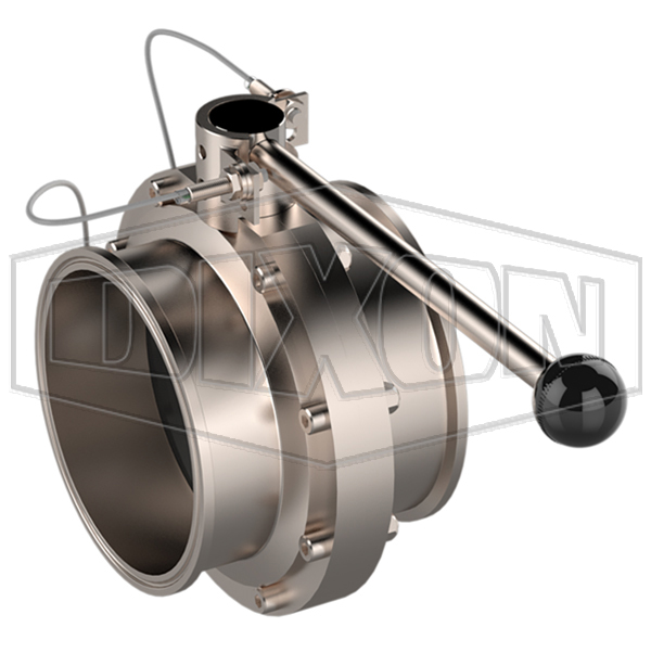 """6"""" & 8"""" Butterfly Valve Lockout / Prox Handles"""