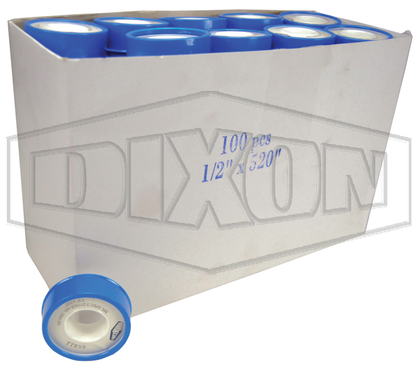 Industrial PTFE Tape - Retail Packaged